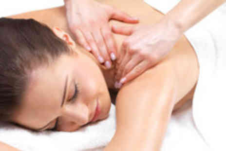 Saks Hair & Beauty - A deep tissue back massage plus a Jessica mini manicure - Save 57%