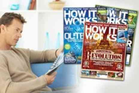 Imagine Publishing - One Year Subscription To How It Works Magazine Including Delivery - Save 51%