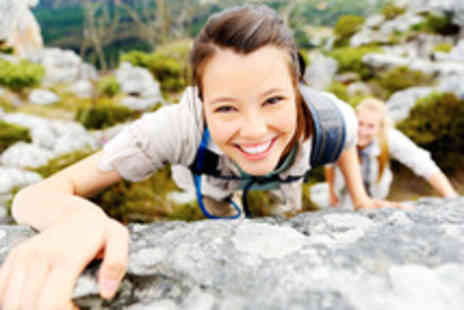 Large Outdoors - A half day outdoor rock climbing class - Save 62%