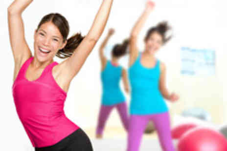 Jazzercise - 10 one hour Jazzercise classes - Save 70%