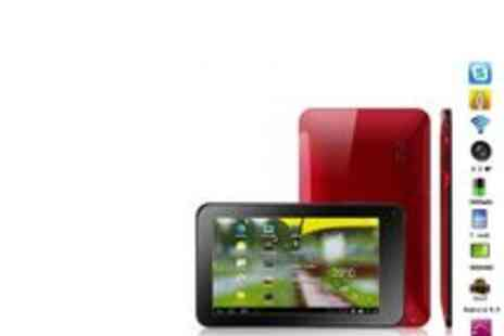 Dress Room - 7 inch Android Tablet in Black Red or White - Save 64%