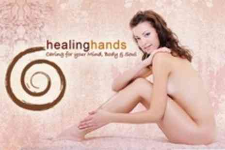 Healing Hands - Six Laser Hair Removal Sessions on One Medium Area Such as Bikini or Two Small Areas - Save 79%