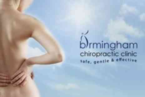 Birmingham Chiropractic Clinic - Chiropractic Package with Consultation and Examination With Report of Findings - Save 87%