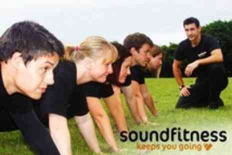Sound Fitness - Six Boot Camp Group Sessions - Save 74%