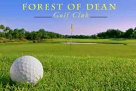 Bells Hotel And The Forest Of Dean Golf Club - 18 Holes of Golf For Two - Save 50%