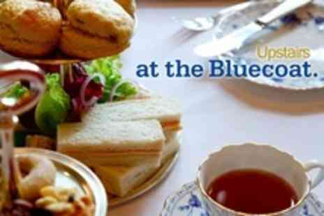 The Bluecoat - Afternoon Tea With Bubbly For Two - Save 24%