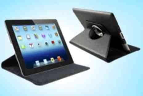 Curated.co.uk - Rotating Case For iPad With Stylus and Screen Protector - Save 66%