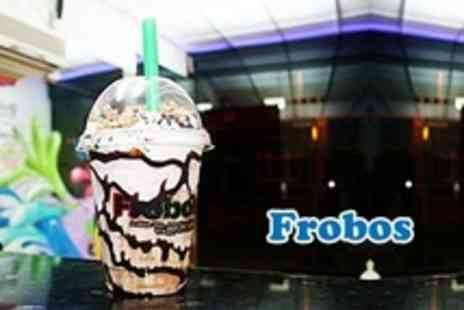 Frobos - Waffles and Milkshake For One - Save 50%