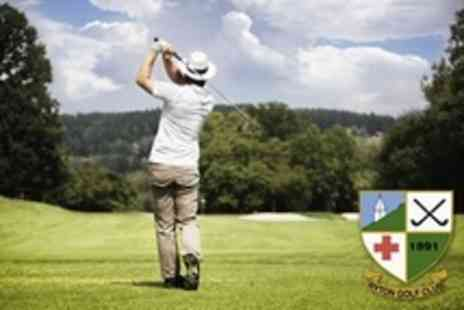 Ryton Golf Club - 18 Holes of Golf For Two - Save 50%