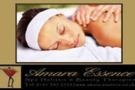 Amara Essence - Aromatherapy Phyto Detox  Package including Full Body, Face & Scalp Massage - Save 58%