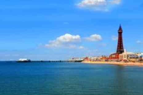 Brownes International Hotel - 2 Night Blackpool Break for Two With 5 Course Meal Each Night - Save 64%