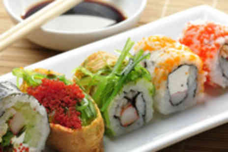 Hilton Tower Bridge - Sushi lunch for 2 including glass of bubbly  - Save 61%