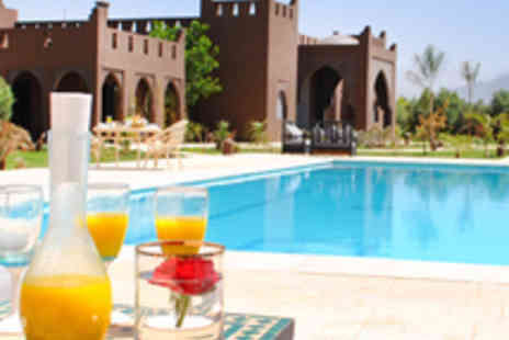 Kasbah Igoudar - Three Night Stay for Two in Deluxe Double Room with Upgrade to Deluxe or Junior Suite - Save 53%