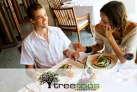 Treetops Country Club - Sunday Lunch For Two With Wine - Save 50%