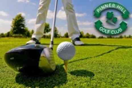 Pinner Hill Golf Club - Golf Two 60 Minute Lessons With PGA Professional Plus Video Analysis - Save 70%