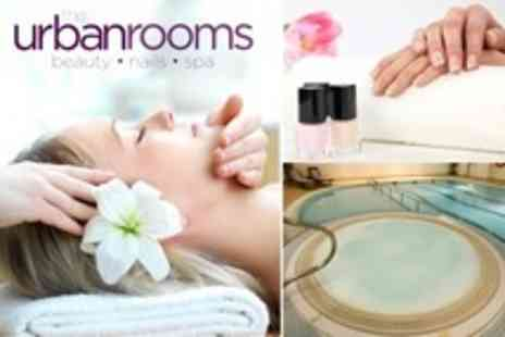 The Urban Rooms - Health Club Day for Two With Choice of Two Treatments Each and Lunch - Save 67%