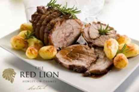 The Red Lion Hotel - Two Course Sunday Lunch For Two - Save 58%