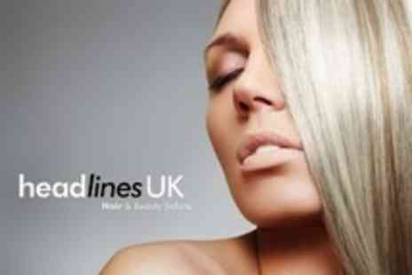 Headlines UK - T Section Highlights With Cut, Conditioning Treatment and Blow Dry - Save 77%