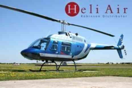 Heli Air - Scenic Helicopter Pleasure Flight Experience For One - Save 66%