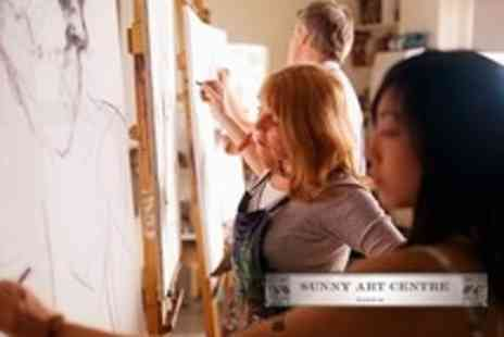 Sunny Art Centre - Two Art Classes Drawing or Chinese Painting - Save 60%