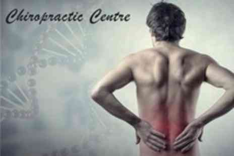 The Chiropractic Centre - Spinal Health Consultation With Wellbeing Workshop, Report of Findings and Two  - Save 81%
