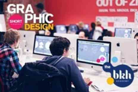 The BKH Academy - Ten Week Part Time Graphic Design Course - Save 77%