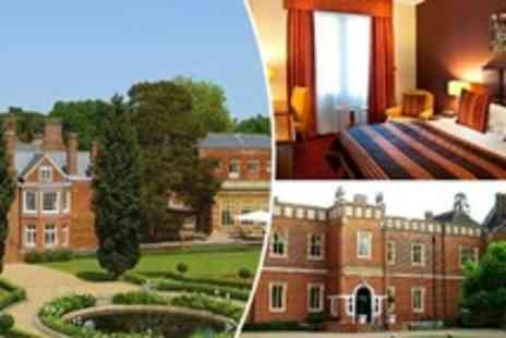 Wotton House - One Night Stay For Two With Breakfast, Dinner and Cream Tea Plus Champagne and Late Checkout - Save 43%