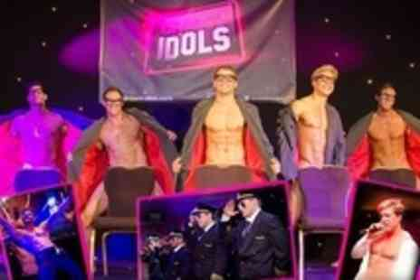 Dream Idols - Male Review Show Tickets Plus Cocktail at Pacha London - Save 53%