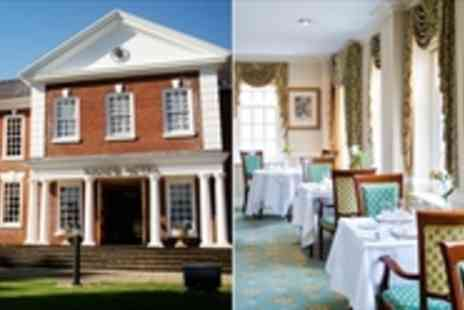 The Manor Hotel - Heart of England Georgian Stay - Save 41%