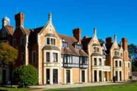 The Wood Norton Hotel -  Boutique Cotswolds Getaway with Dining - Save 46%
