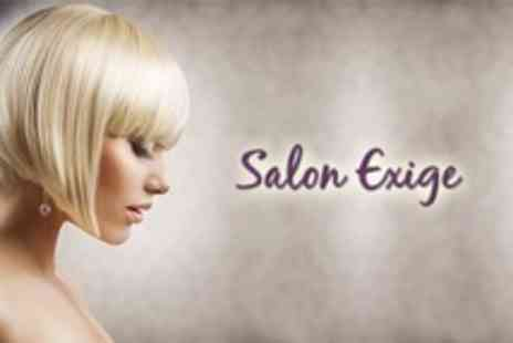 Salon Exige - Half Head of Highlights or Full Head of Colour With Cut, Condition and Blow Dry - Save 58%