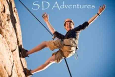 SD Adventures - Half Day Rock Climbing For One - Save 49%
