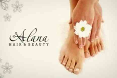 Alana Hair and Beauty - Gel Manicure or Pedicure or Both - Save 60%
