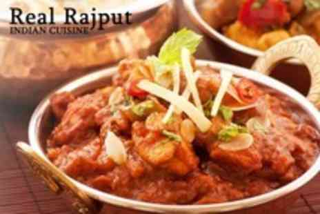 Real Rajput Indian Cuisine - Two Courses For Two With Tea or Coffee - Save 61%
