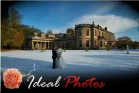 Ideal Photos - Wedding Photography Package With Album, Prints and CD of Images - Save 17%