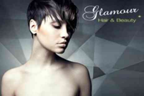 Glamour Hair and Beauty - Restyle or Cut, Blow Dry and Conditioning Treatment Plus Eyebrow Wax - Save 66%