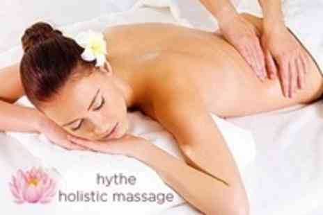 hythe holistic massage - One Aromatherapy or Swedish Massage Sessions - Save 53%