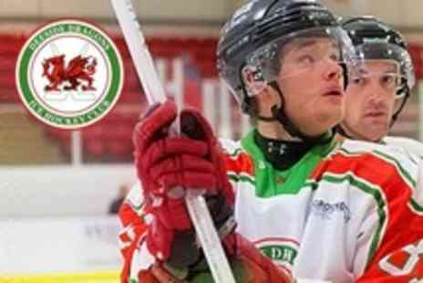 Deeside Dragons - Adult Ice Hockey Ticket to Deeside Dragons v Flyde Flyers - Save 60%