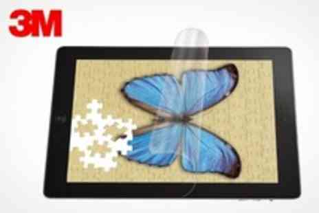3M - Natural View Fingerprint Fading Screen Protector For iPad - Save 43%