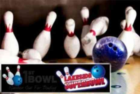 1st Bowl - One Bowling For Six People - Save 47%