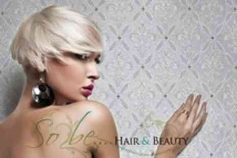 So Be Hair - Full Head Colour or Foils With Cut and Finish - Save 61%