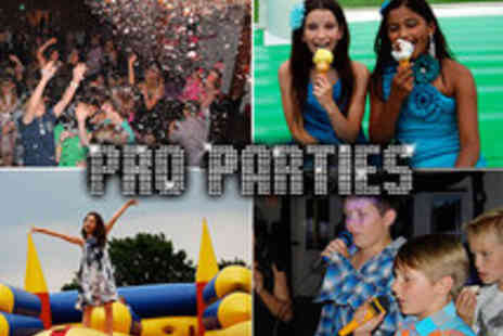 Pro Parties - Football, Disco Dance, Costume, Sports Themed Kids Parties - Save 45%
