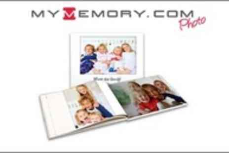 MyMemory.com - Capture those Memories! 26 Page Personalised Cover Photobook - Save 67%