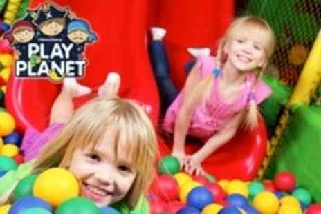 Hamiltons Play Planet - Kids Soft Play Party For Up to Ten With Food and Host - Save 61%