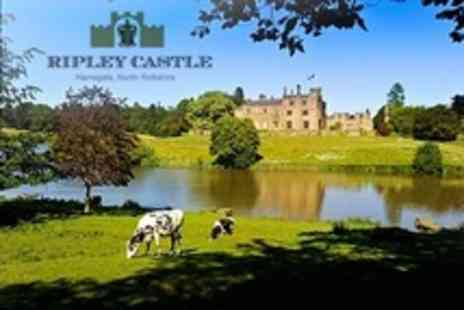 Ripley Castle Estate - Guided Tour and Garden Entry With Hot Drink For Two Adults - Save 68%