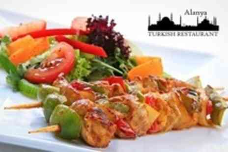 Alanya Turkish Restaurant - Two Course Turkish Meal For Two - Save 55%