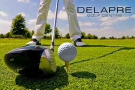 Delapre Golf Centre - Day of Golf For Two - Save 78%