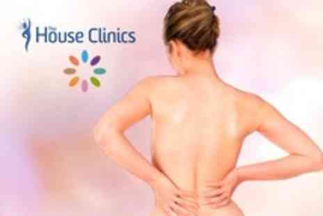 The House Clinics - Chiropractic or Physiotherapy Consultation, Treatment, and Massage - Save 62%