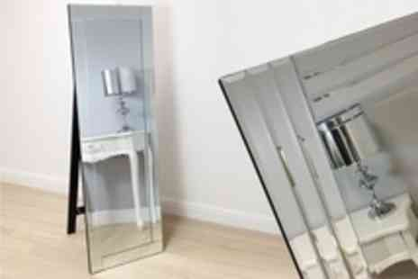Exclusive Mirrors - Full Length Cheval Mirror in Choice of Frame - Save 50%