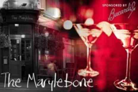 The Marylebone - Four Cocktails For Two People - Save 69%